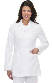 labcoats: Orange Standard Women's Hampton Lab Coat