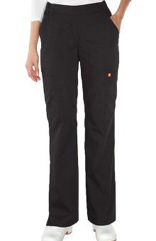 tall: Orange Standard Women's Catalina Flare Leg Scrub Pant