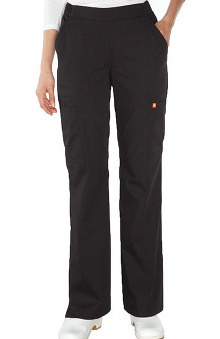 Orange Standard Women's Catalina Flare Leg Scrub Pant