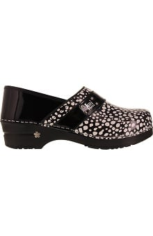 Clearance koi by Sanita Women's Professional Lindsey Patent Clog