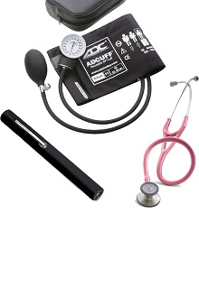 3M™ Littmann® Cardiology III™ Stethoscope with ADC Phosphyg Sphygmomanometer and Penlight Kit