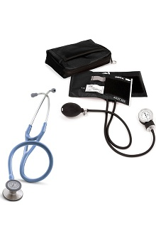 3M™ Littmann® Cardiology III™ Stethoscope with Prestige Medical Adult Sphygmomanometer and Case Kit