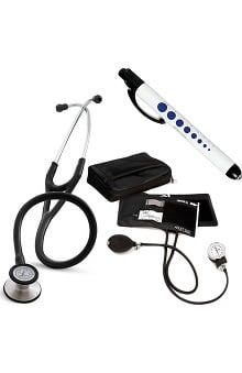 Gifts Accessories new: 3M Littmann Cardiology Stethoscope with Prestige Blood Pressure Monitor, Penlight and ID Clip Kit