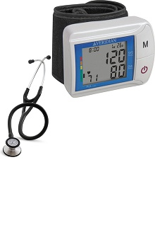 3M™ Littmann® Cardiology III™ Stethoscope with Veridian Healthcare Digital Blood Pressure Monitor Kit