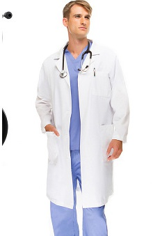 "3M™ Littmann® Cardiology III™ and allheart Basics Unisex 41"" Lab Coat"