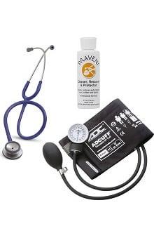 3M™ Littmann® Classic II SE, ADC Phosphyg Sphygmomanometer, and Praveni Cleaning Kit