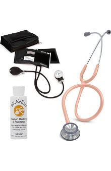 3M™ Littmann® Classic II SE, Prestige Medical Adult Sphygmomanometer with Case, and Praveni Cleaning Kit