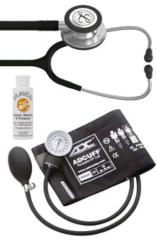 3M™ Littmann® Classic III™, ADC Phosphyg Sphygmomanometer and Praveni Cleaning Kit