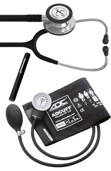 3M™ Littmann® Classic III™, ADC Phosphyg Sphygmomanometer, and Penlight Kit