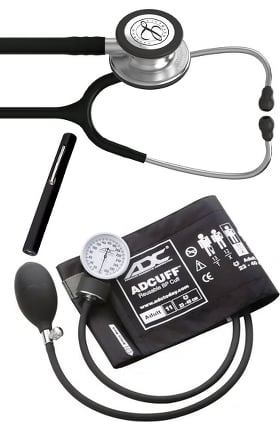 3M Littmann Classic III™, ADC Phosphyg Sphygmomanometer, and Penlight Kit