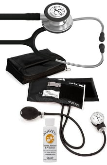 3M™ Littmann® Classic III™ Prestige Medical Adult Sphygmomanometer with Case, and Praveni Cleaning Kit