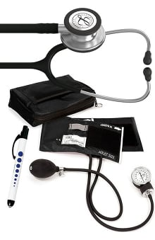 3M™ Littmann® Classic III™ Prestige Medical Adult Sphygmomanometer with Case, and Quick Lites Penlight Kit