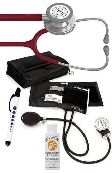 3M™ Littmann® Classic III™ Prestige Medical Adult Sphygmomanometer with Case, Quick Lites Penlight, and Praveni Cleaning Kit