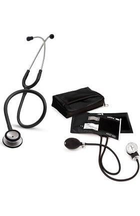3M Littmann Classic II SE Stethoscope with Prestige Medical Adult Sphygmomanometer and Case Kit
