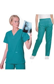 Landau Women's  Scrub Set