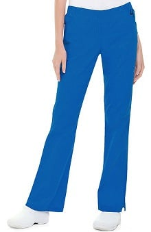 petite: Landau Women's Modern Fit Full Elastic Boot Cut Pant