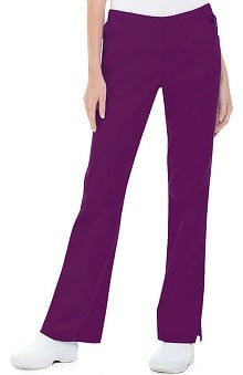 Clearance Landau Women's Modern Fit Full Elastic Boot Cut Pant