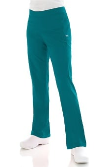 "petite: Landau Smart Stretch Women's ""Bliss"" Pleated Pocket Cargo Scrub Pant"