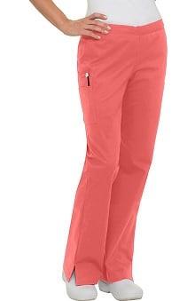 Clearance Smart Stretch by Landau Women's Flare Leg Scrub Pant