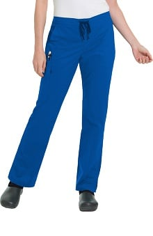 Clearance Work Flow by Landau Women's Drawstring/Elastic Cargo Scrub Pant