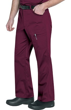 Landau Men's Cargo Ripstop Scrub Pant With Knee Darts
