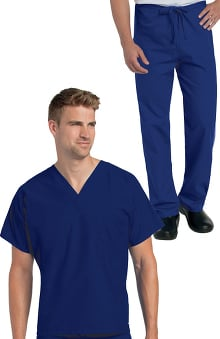 unisex scrub sets: Landau Unisex Nursing - Reversible Scrub Set