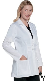 Landau Women's Lab Coat With Inside Tablet Pocket