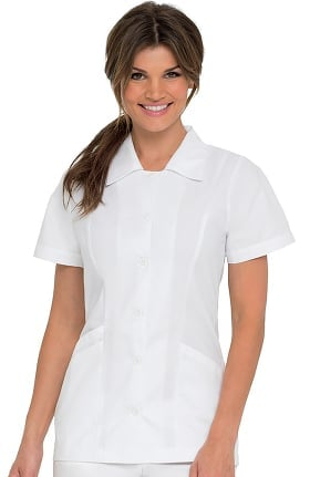Landau Women's Student Tunic Solid Scrub Top