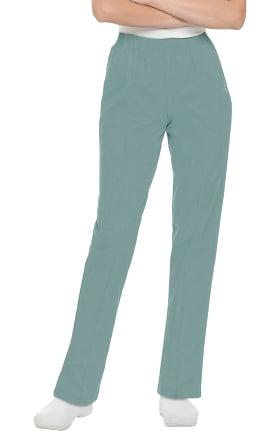 Landau Women's Classic Fit Elastic Waist Scrub Pants