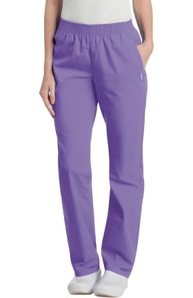 Landau Women's Classic Relaxed Fit Scrub Pant