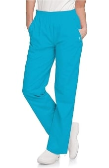 tall: Landau Women's Eased Classic Fit with Elastic Waist Scrub Pants