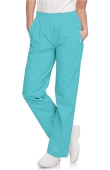 Clearance Landau Women's Eased Classic Fit with Elastic Waist Scrub Pants