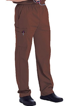Clearance Landau Men's Cargo Pocket with Zipper Fly Scrub Pants