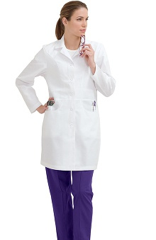 labcoats: Landau Women's J-Pocket Lab Coat