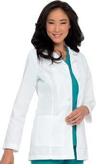 Landau Women's Princess Seamed Lab Coat
