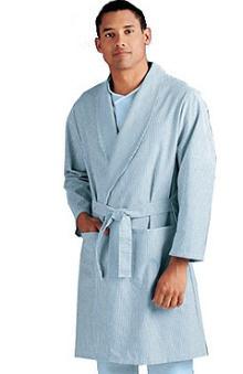 unisex tops: Landau Unisex Patient Robe