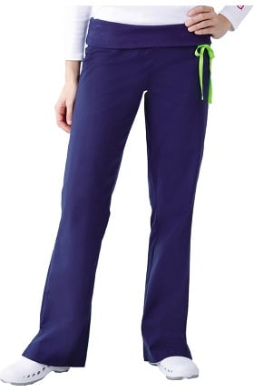 Urbane Essentials Women's Knit Waist Scrub Pant