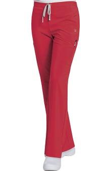 tall: Urbane Performance Women's Flat Front Cargo Scrub Pant