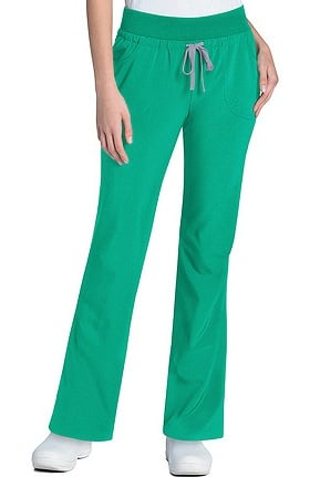 Clearance Urbane Performance Women's Wide Waistband Convertible Scrub Pant