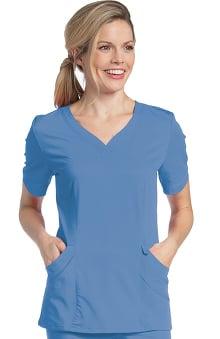 Scrubs: Urbane Ultimate Women's Sweetheart Neck Solid Scrub Top