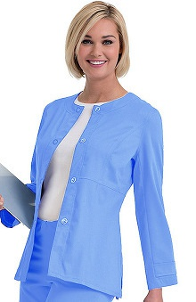 Clearance Urbane Ultimate Women's Mindi Ultimate Snap Front Scrub Jacket