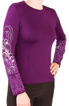 Clearance Smitten Women's Fresh Ink Long Sleeve T-Shirt