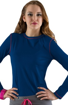 Clearance Smitten Women's Long Sleeve T-Shirt with Cover stitch