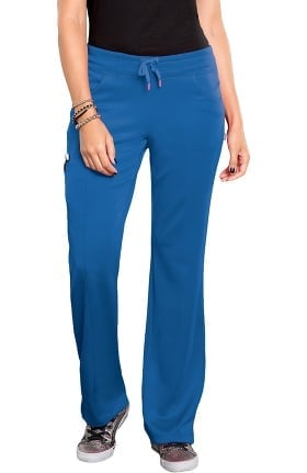 Bliss by Smitten Women's Ponte Front Panel Scrub Pant