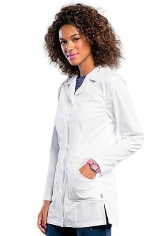 Smitten Women's Button Front Lab Coat