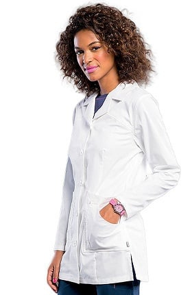 "Smitten Women's Button Front 31⅞"" Lab Coat"