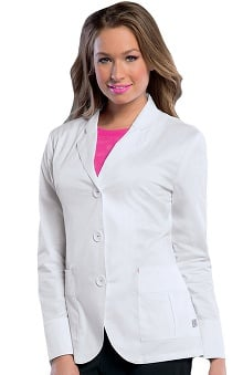 Smitten Women's Top Load Patch Pocket Lab Jacket