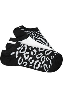 Clearance Smitten Women's Ankle Animal Print Sock 3-Pack