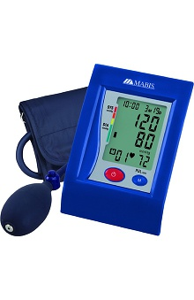 Mabis HealthSmart® Standard Semi-Automatic Arm Digital Blood Pressure Monitor