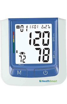Mabis HealthSmart® Select Automatic Arm Digital Blood Pressure Monitor, Standard Cuff with AC Adapter